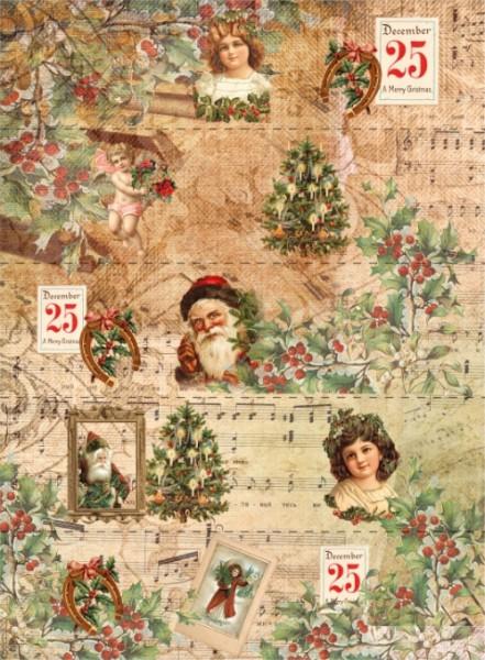 """Schrumpfbanderole """"Weihnachten"""" 1"""