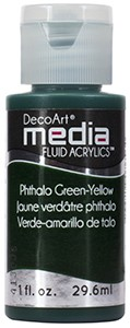 Media Fluid Acrylics - Phthalo Green-Yellow