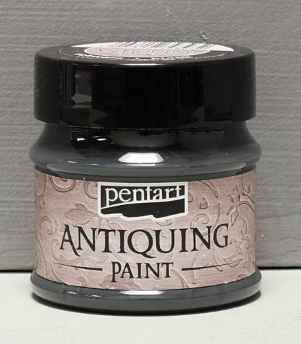 Antiquing Paint - Schwarz