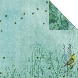 "Designpapier ""Birds & Bees"" 1 (30,5 x 30,5 cm)"