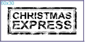 "Stempel ""Christmas Express"""
