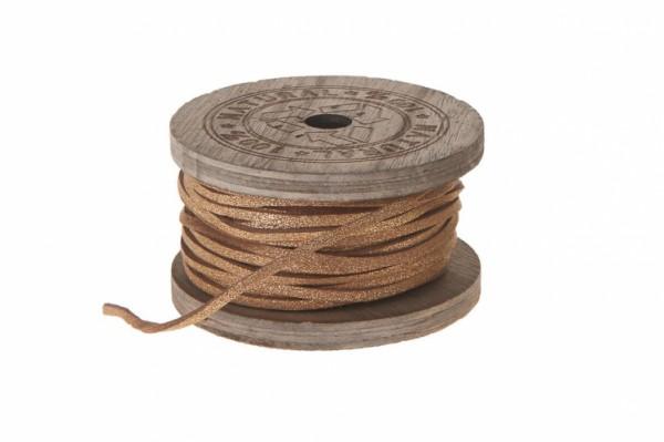 Lederband - Kupfer