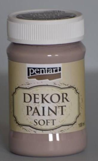 Dekor-Farbe soft - Vintage Brown