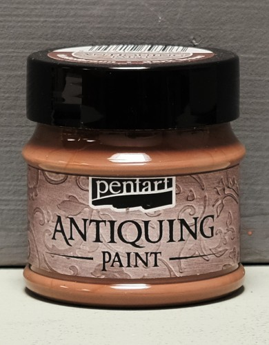 Antiquing Paint - Dunkelbraun - 50 ml