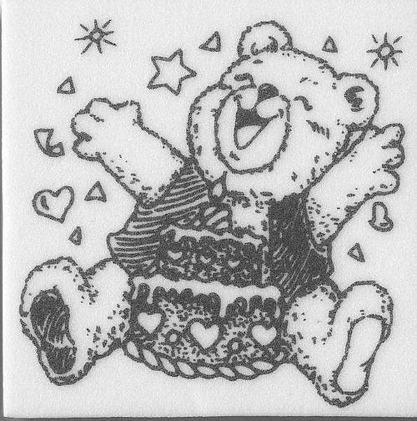 "Stempel ""Teddy Geburtstag"""
