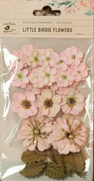 Little Birdie Flowers - Renae Blush