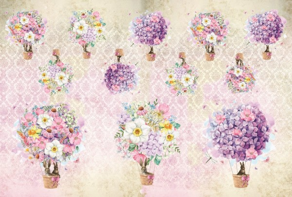 "Reispapier ""Blütenzauber"""
