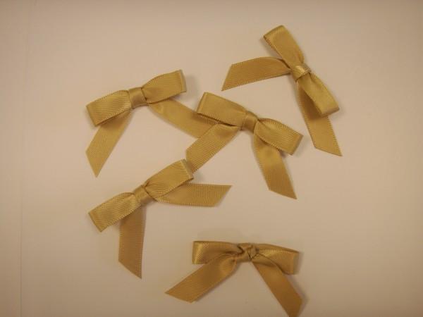 Satinschleifen - Gold 2