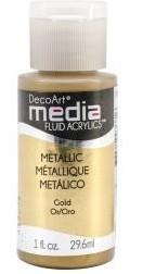 Media Fluid Acrylics - Gold