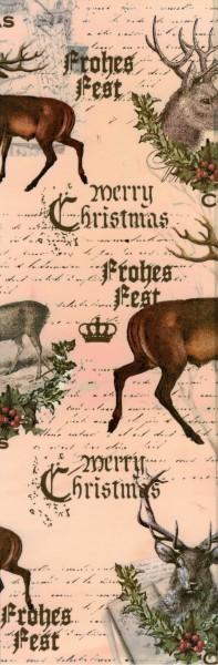 """Schrumpfbanderole """"Frohe Weihnachten"""" 2"""