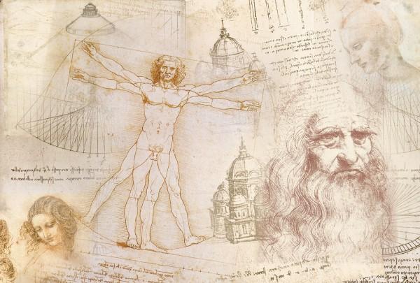 """Reispapier """"Da Vinci"""" 1"""