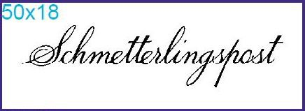 "Stempel ""Schmetterlingspost"""