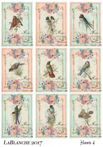 "Keramikpapier ""Blumen IV"""