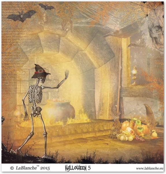 """Designpapier """"Halloween"""" 5"""