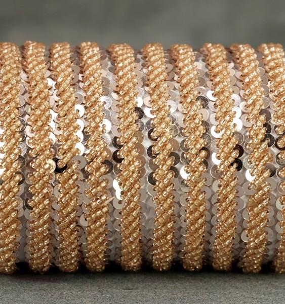 Paillettenband - Bronze