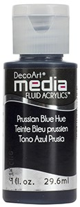 Media Fluid Acrylics - Prussian Blue Hue