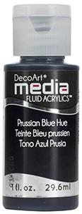 Media Fluid Acrylics - Prussian Blue Hue