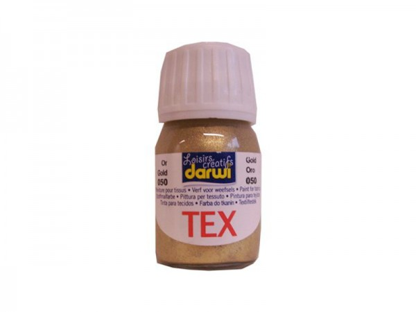 Darwi Tex Stoffmalfarbe Gold