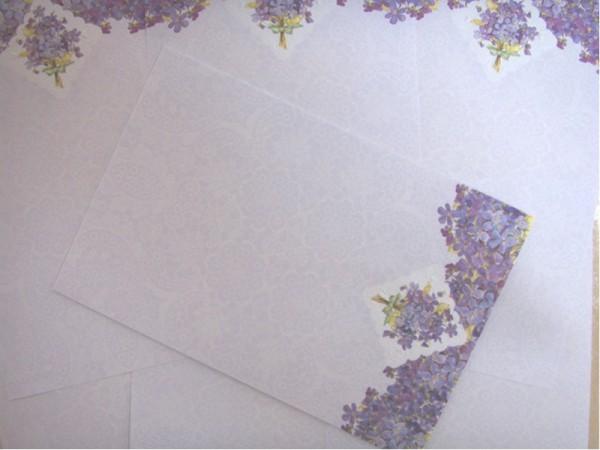 """Carol Wilson Designpapier """"Veilchen"""""""