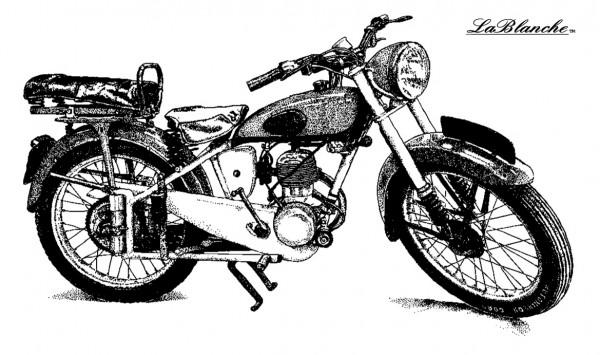 """Stempel """"Motorrad"""""""