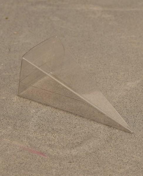 "Faltschachtel ""Spitze Pyramide"" - Transparent (6 St.)"