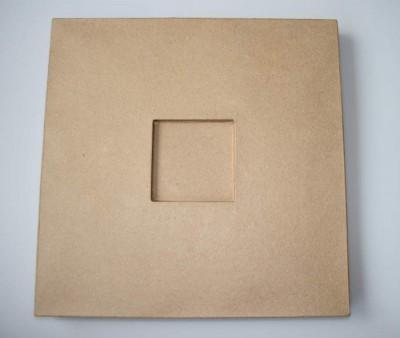 Pappmascheerahmen 39,6 x 39,6 cm