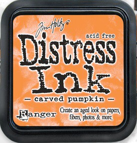 Distress Ink - Carved Pumpkin