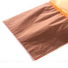Blattmetall - Kupfer (5 Bogen)