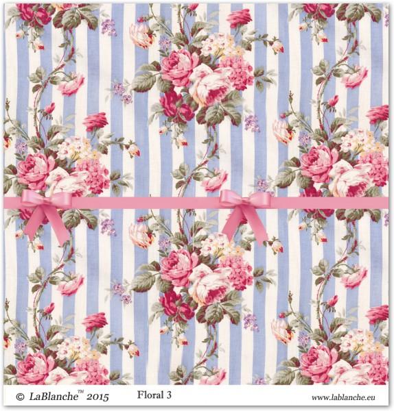"""Designpapier """"Floral"""" 3"""