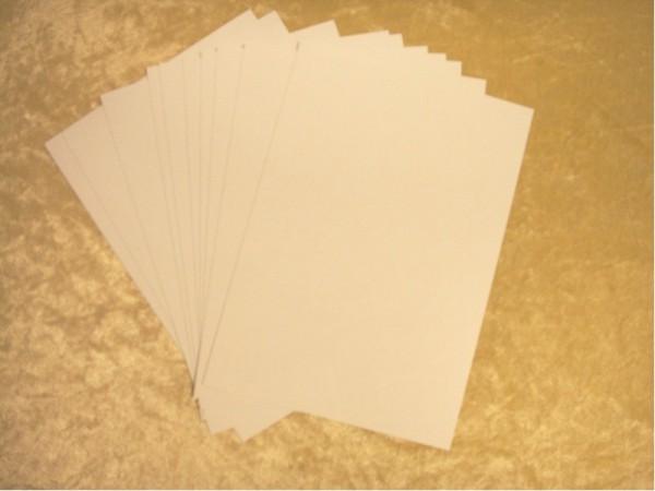 """Chromoluxpapier """"14 x 20 cm Blanko"""" (10 Bogen)"""