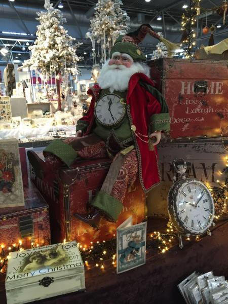 Dekoration Santa 80 cm - Rot